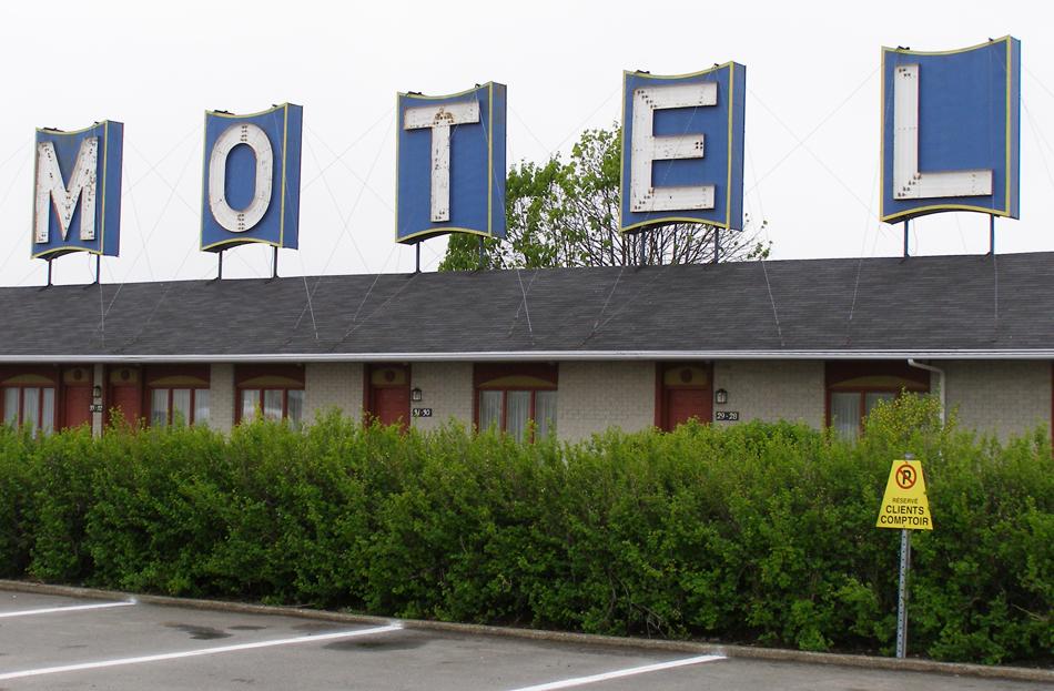 June 2009 the companion blog for Motel le bic